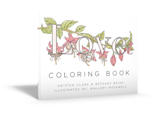 Love Defined Coloring Book