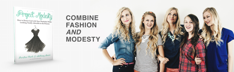 combine fashion and modesty banner