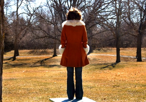 Girl Standing Alone