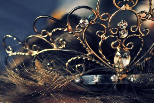 Girl Wearing Crown