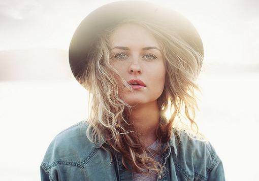 Girl in Hat Looking Hot Girl Defined