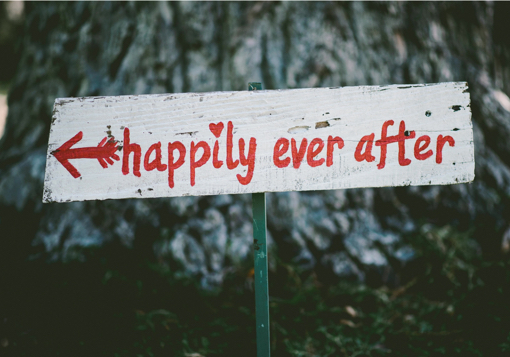 Happily ever After sign GirlDefined.com