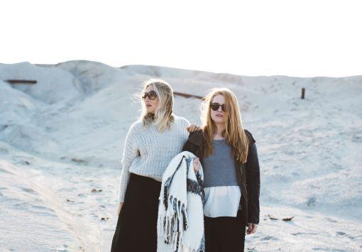 girls standing