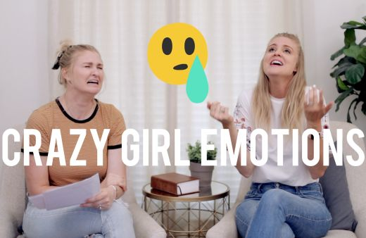 crazy girl emotions